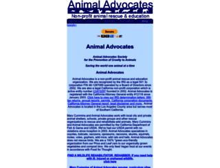animaladvocates.us screenshot