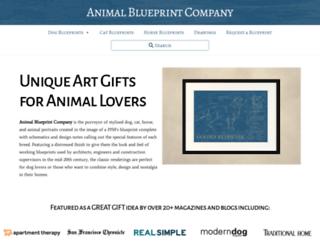 animalblueprintcompany.com screenshot