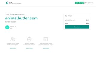 animalbutler.com screenshot