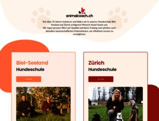 animalcoach.ch screenshot