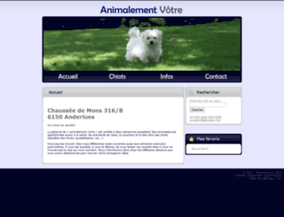 animalementvotre.com screenshot