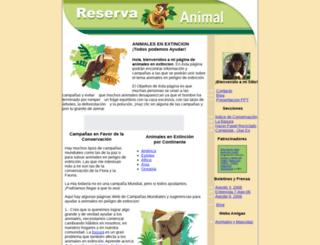 animales-en-extincion.com screenshot