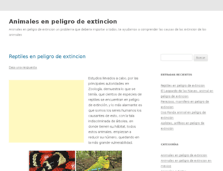 animalesenpeligrodeextincion.com.mx screenshot