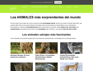 animaleshoy.net screenshot