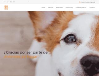 animalessinhogar.com.uy screenshot