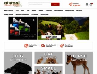 animalhealthstore.com.au screenshot
