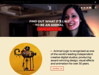 animallogic.com screenshot