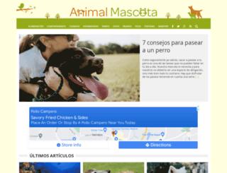 animalmascota.com screenshot