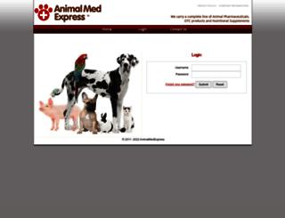 animalmedexpress.org screenshot