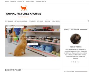animalpicturesarchive.com screenshot