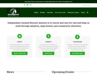 animalrescue.net screenshot