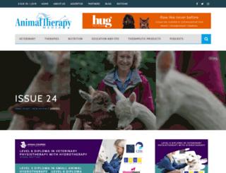 animaltherapymedia.co.uk screenshot