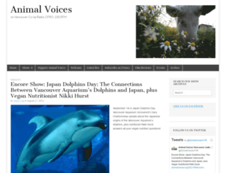 animalvoices.org screenshot