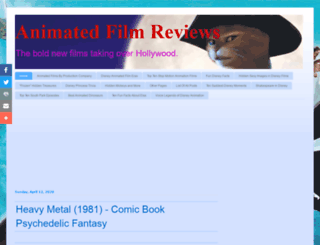 animatedfilmreviews.filminspector.com screenshot