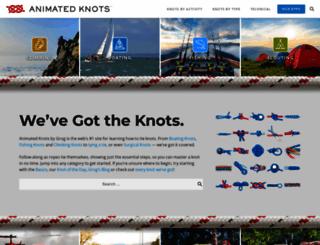 animatedknots.com screenshot