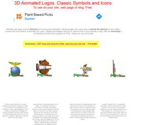 animatedlogos.pages3d.net screenshot