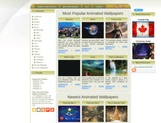 animatedwallpaper7.com screenshot