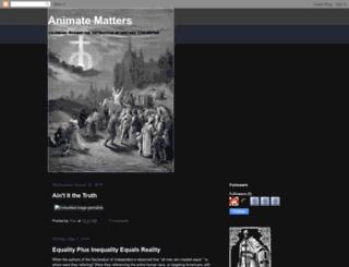 animatematters.blogspot.com screenshot