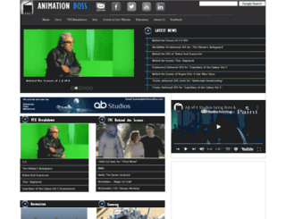 animation-boss.com screenshot