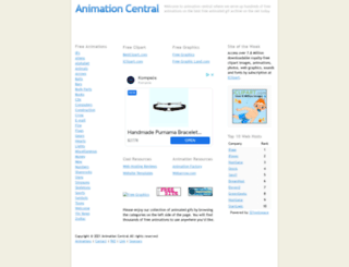 animation-central.com screenshot