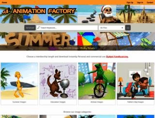 animationfactory.com screenshot