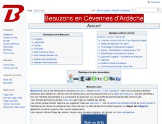 animations.beauzons.fr screenshot