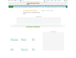 animations.funphotobox.com screenshot
