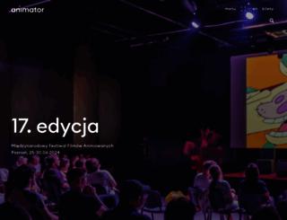 animator-festival.com screenshot