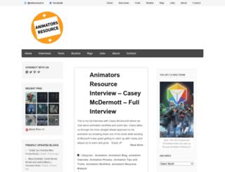 animatorsresource.blogspot.com.au screenshot