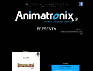 animatronix.com.mx screenshot