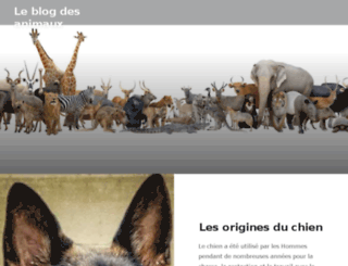 animaux.ws screenshot