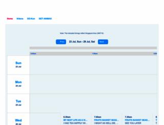 animax-asia.com screenshot