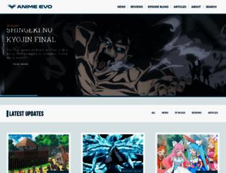 anime-evo.net screenshot