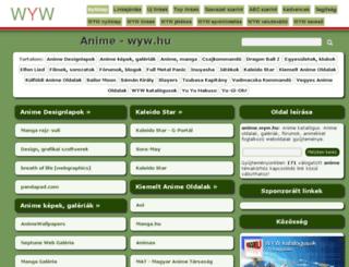 anime.wyw.hu screenshot