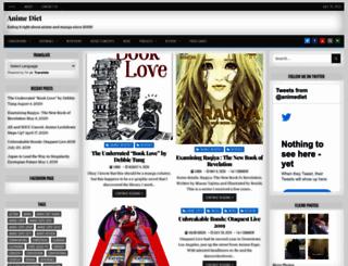animediet.net screenshot