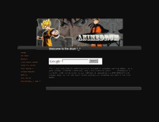 animedrum.webs.com screenshot