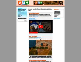 animemusicvideos.org screenshot