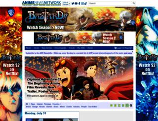 animenewsnetwork.com screenshot