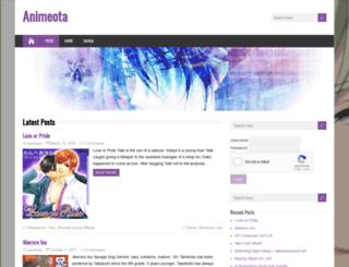 animeota.com screenshot
