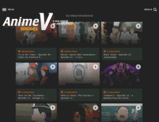 animev.net screenshot