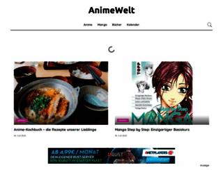 animewelt.de screenshot