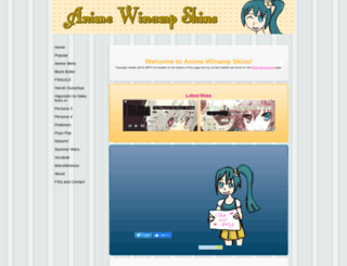 animewinampskins.yolasite.com screenshot