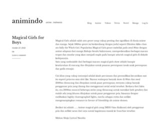 animindo.net screenshot