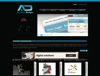 animoondesigns.in screenshot