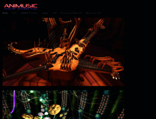 animusic.com screenshot