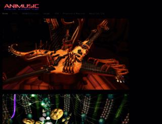 animusic.com screenshot