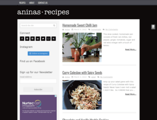 aninas-recipes.com screenshot