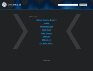 anisansia.cf screenshot