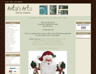 anitasarts.com screenshot
