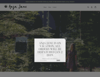 anjajane.co.uk screenshot
